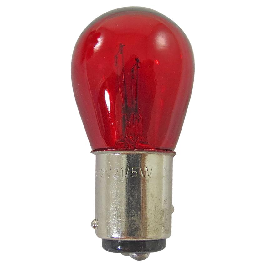 Lampada Lanteral Traseira 12V 21/5W Vermelha