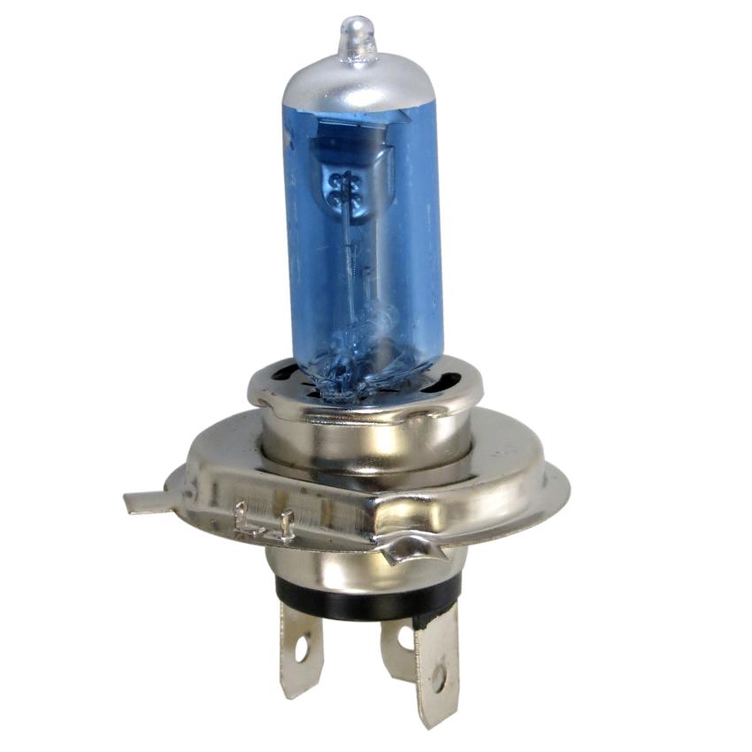 Lampada Farol H4 Biodo 12V 60/55W Azul