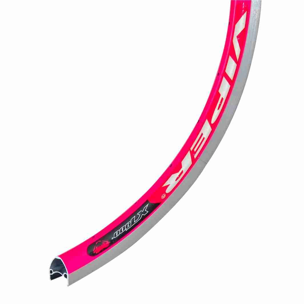 Aro Aluminio 26X1.1/2 Bitubular Neon Pink
