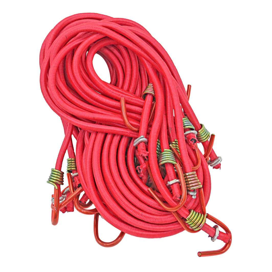 Elastico Ponta Ferro 1,5m Vermelho
