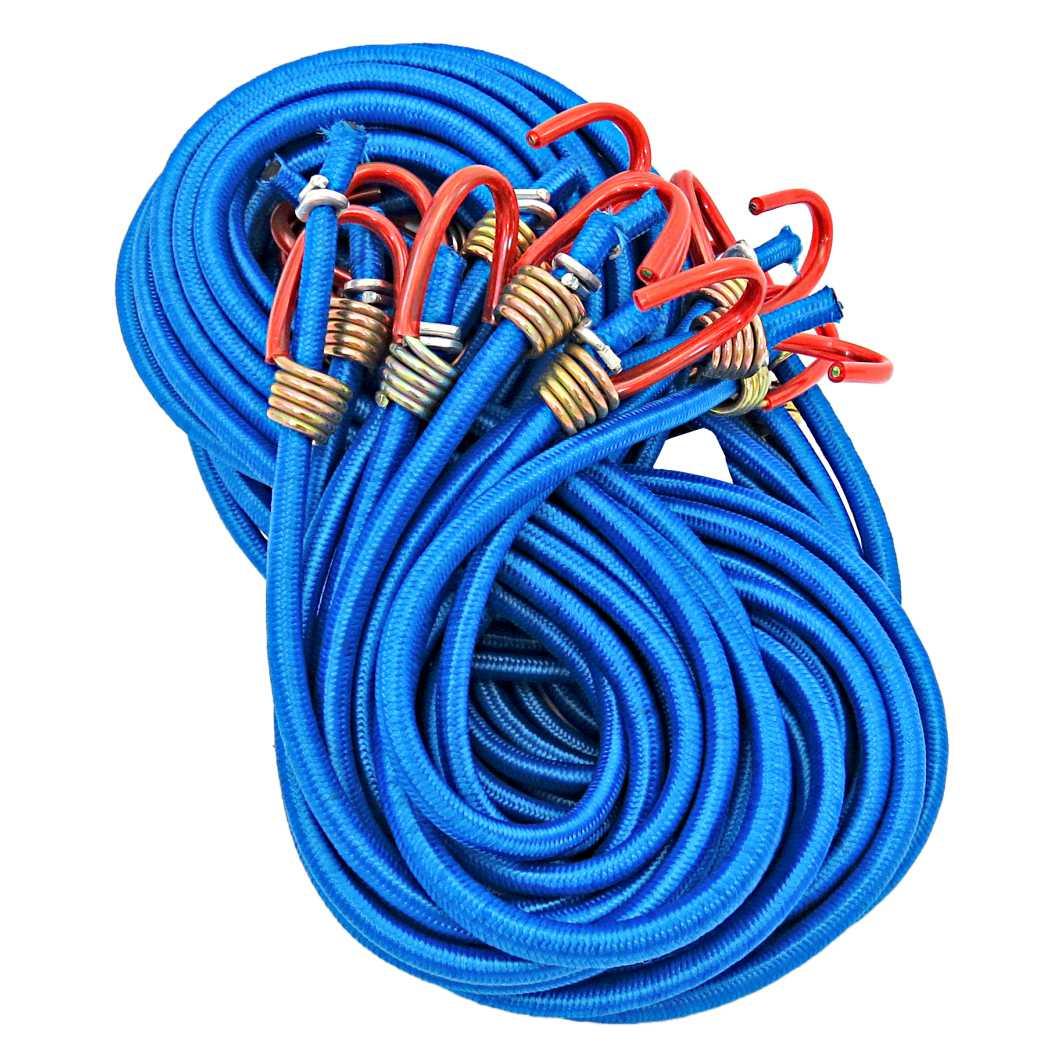 Elastico Ponta Ferro 2,0m Azul