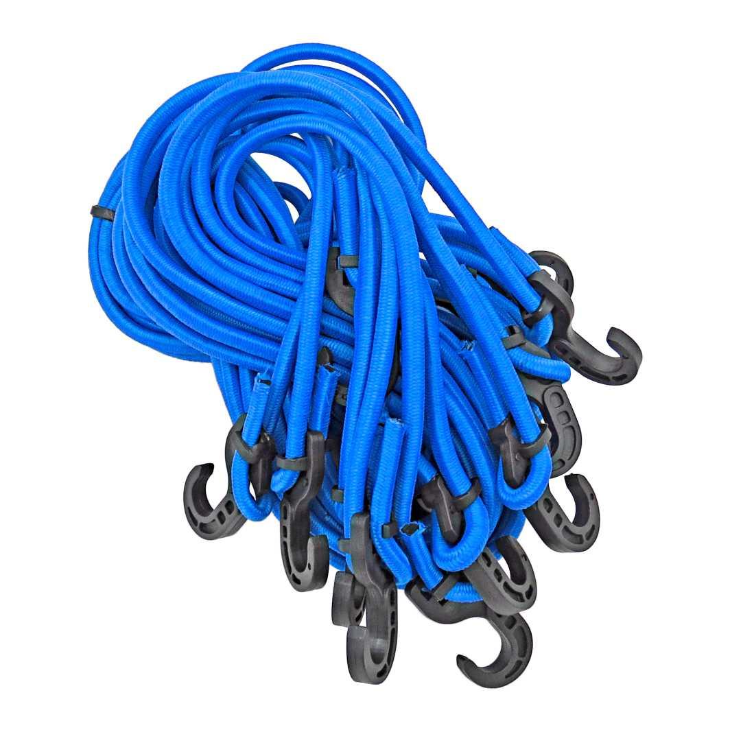 Elastico Ponta Plastico 1,5m Azul