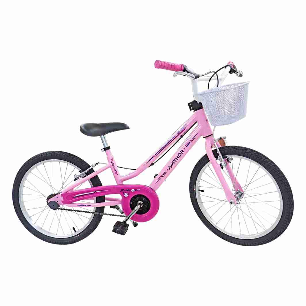 Bicicleta Aro 20 Bella 02 Rosa