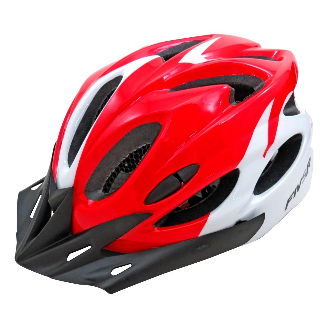 Capacete P/ciclista 2020.1V Branco/Vermelho