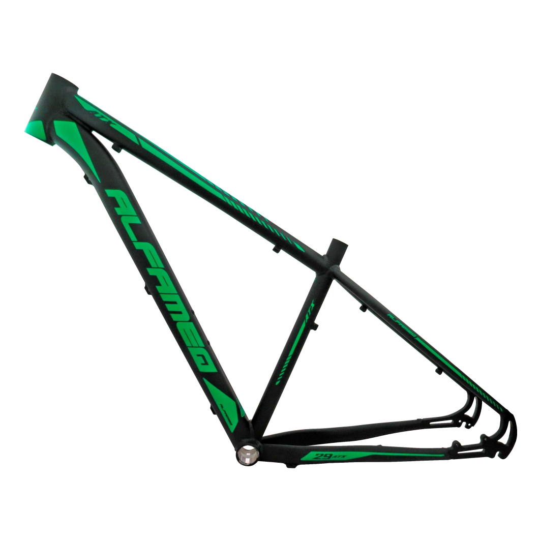 Quadro 29 Aluminio ATX 17 Preto Fosco/Verde