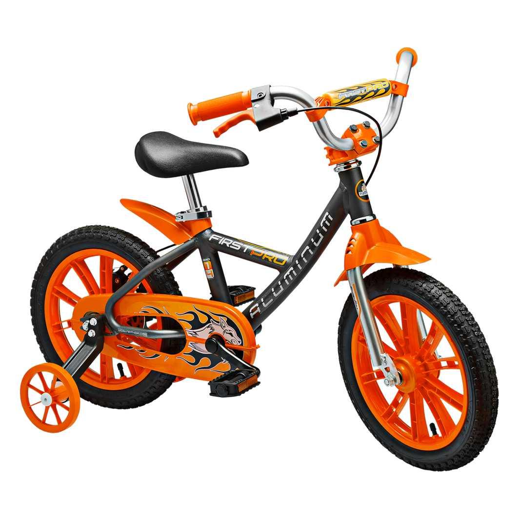 Bicicleta Aro 14 Aluminio First Pro Masculino