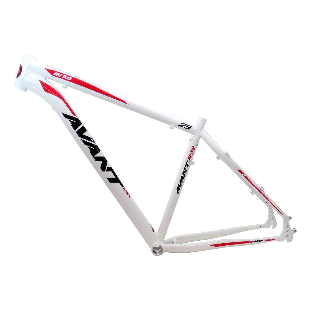 Quadro 29 Aluminio Avant 19 Branco C/vermelho