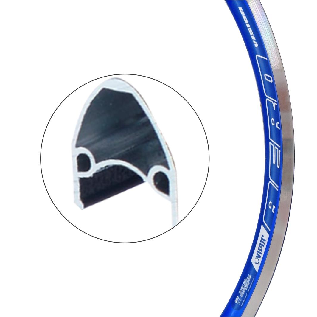 Aro Aluminio 26x1.1/2 Vision Azul