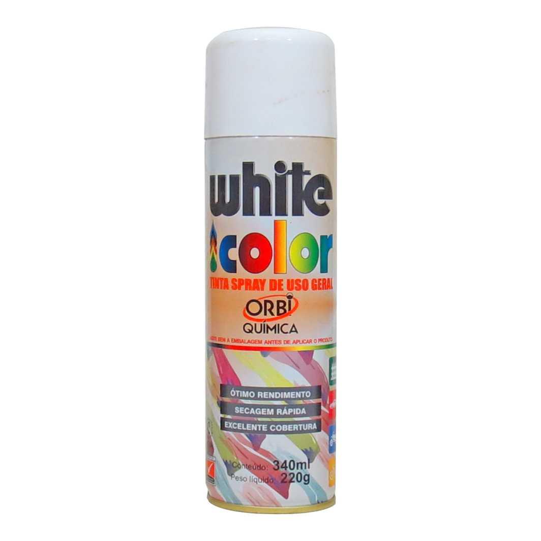 Tinta Spray Branco Fosco 340ml
