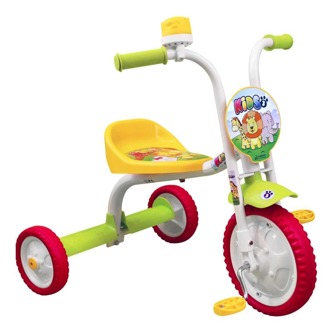 Triciclo Aro 5 Kids 3 Verde/Amarelo