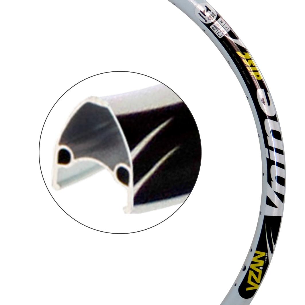 Aro Aluminio 29 Vnine 36 Furos Disco branco S/Ilhos
