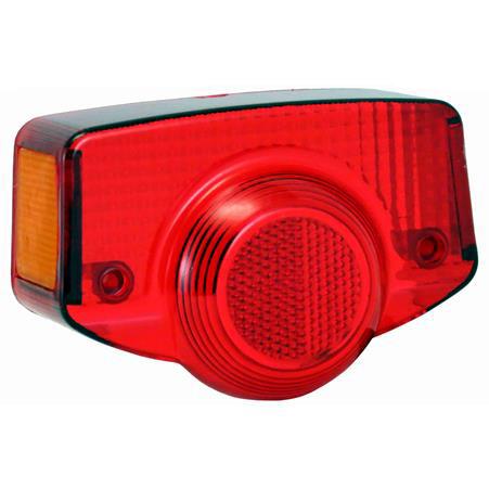 Lente Lanterna Traseira CG 82/SHINERAY 50-C Vermelho
