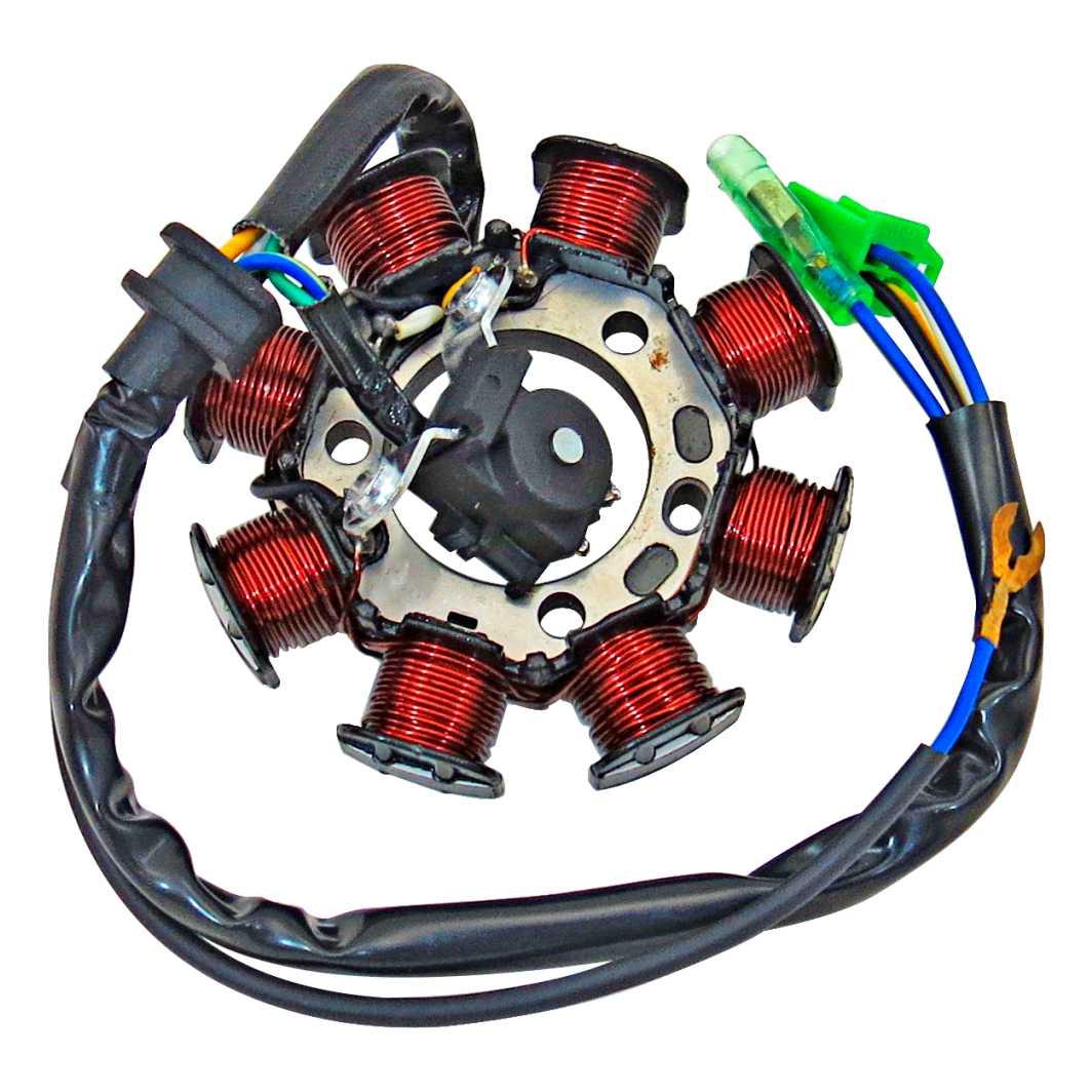Estator Magneto Completo YBR 125 02-5/XTZ 2-5