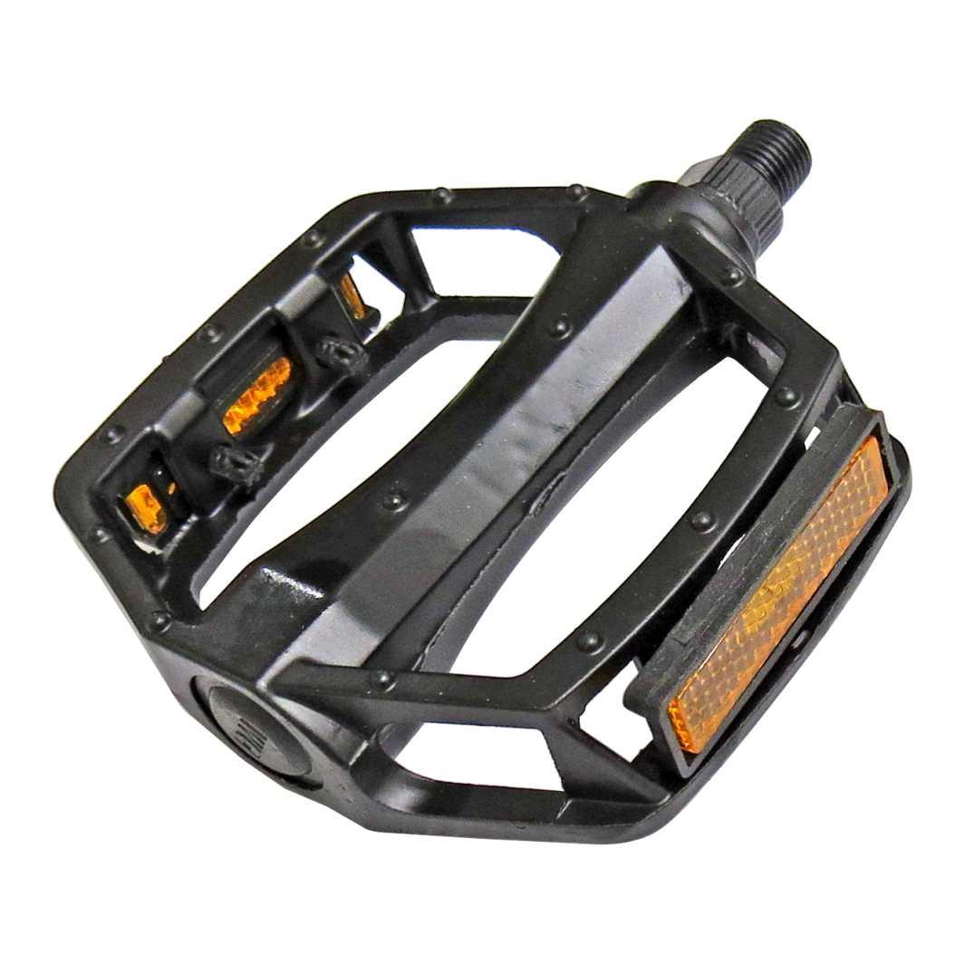Pedal C/Esfera Ingles Aluminio BMX Preto