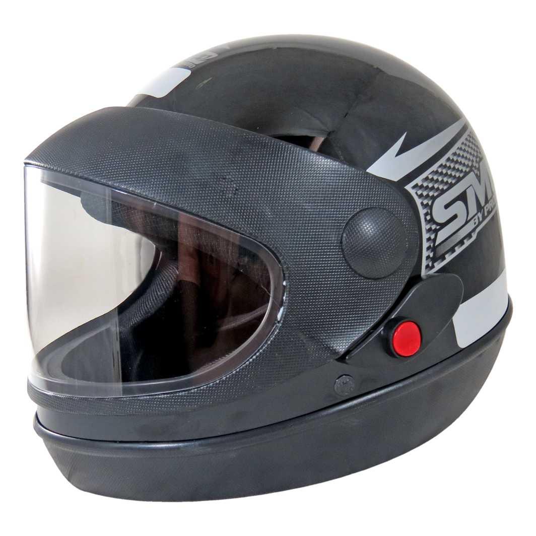Capacete Sport Moto Tam.58 Preto