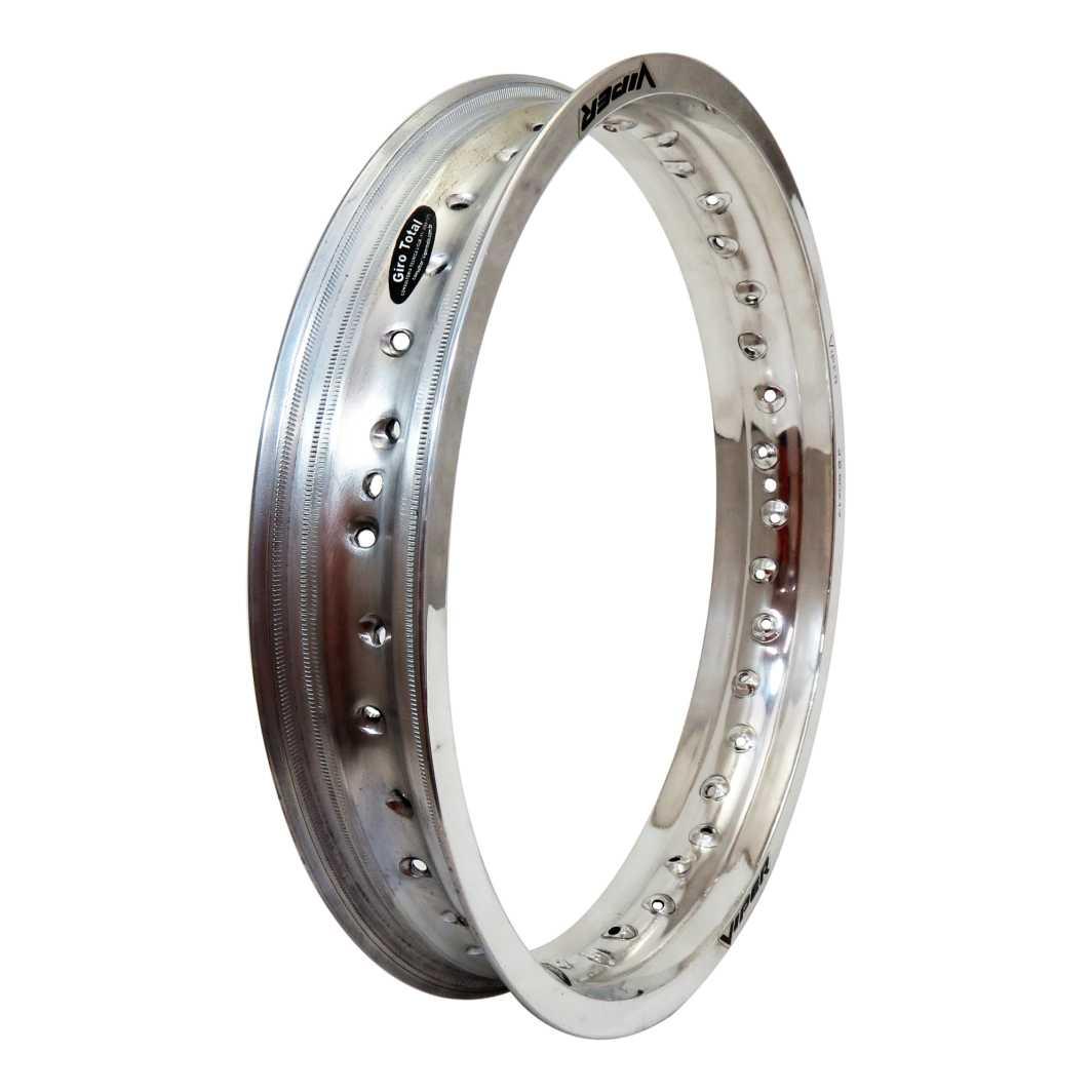 Aro Aluminio Dianteiro 250X17 Prata