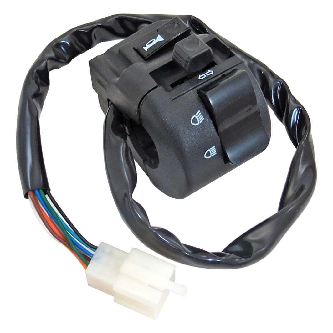 Interruptor Luz 09 Fios TITAN 125 00-04 KS
