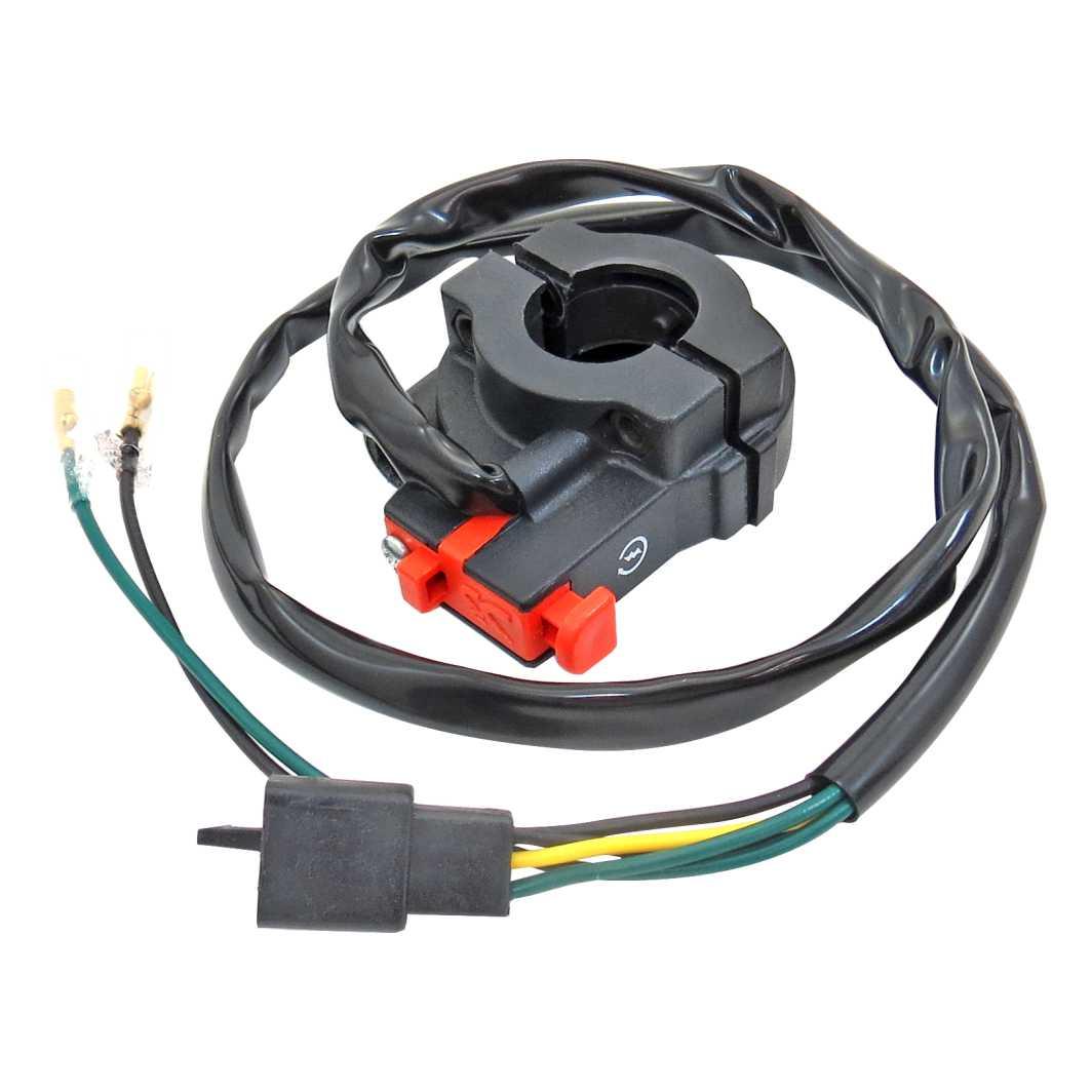 Interruptor Partida TITAN 150 04-08 ES