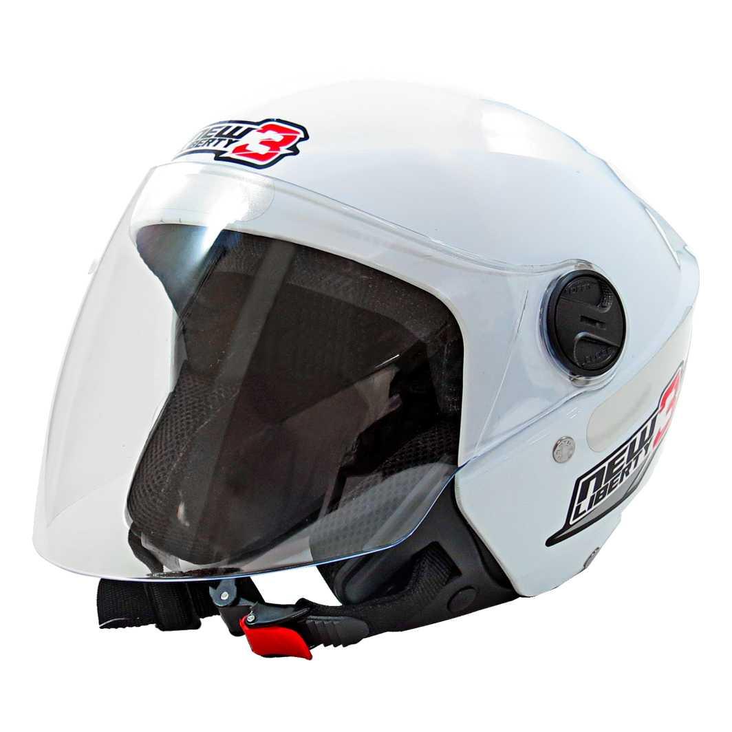 capacete new liberty 3 tam.58 branco