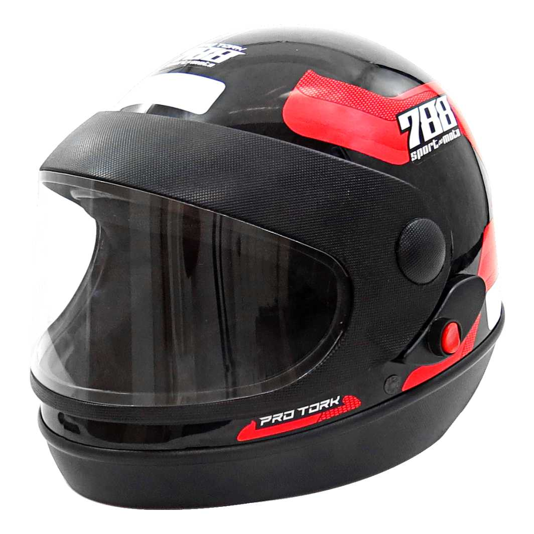 Capacete Sport Moto 788 Tam.58 Vermelho