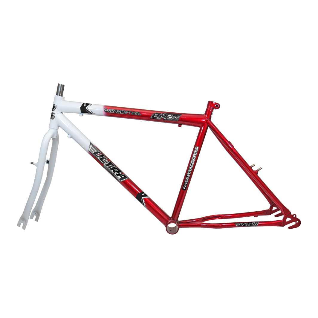 Kit 26 MTB Bicolor Branco/Vermelho