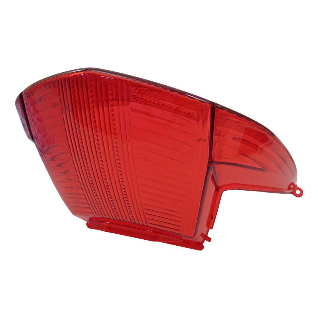 Lente Lanterna Traseira JET 50-C Vermelha