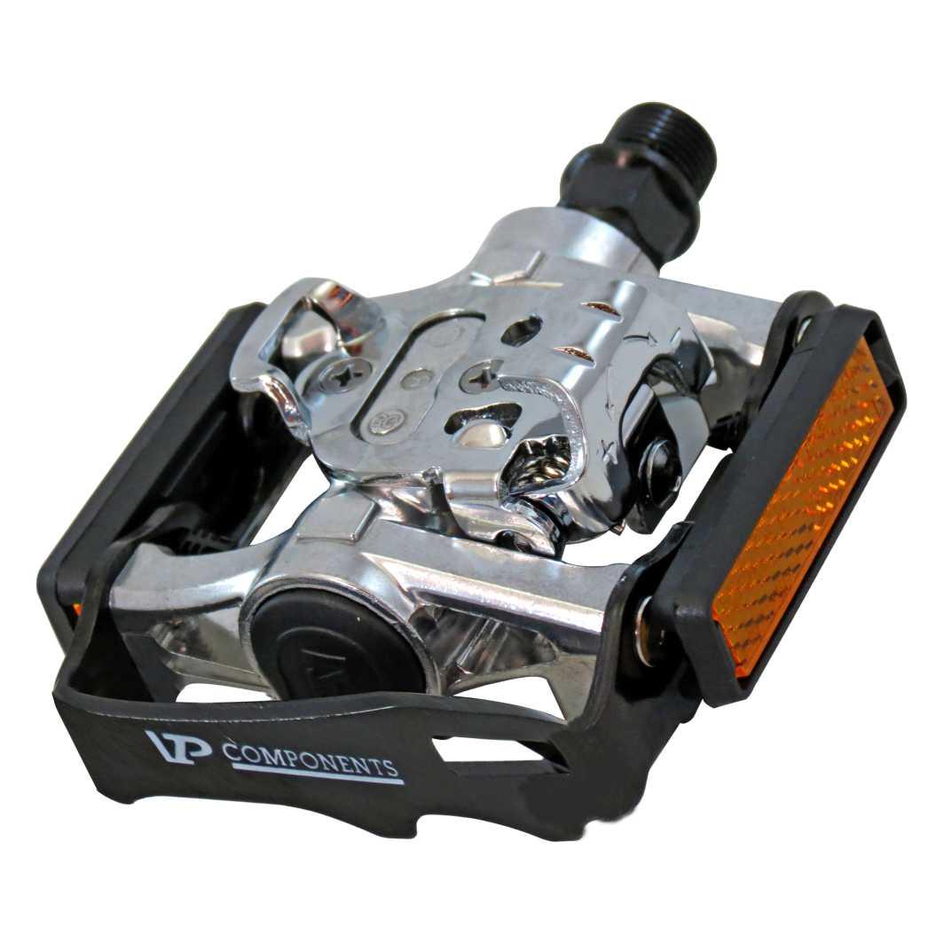 Pedal Clip MTB VP-X93 Preto/Polido
