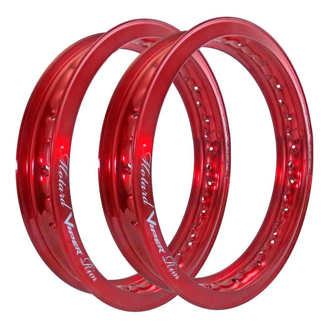Aro Aluminio DT/TR 185X18/250X18 Mortad Vermelho