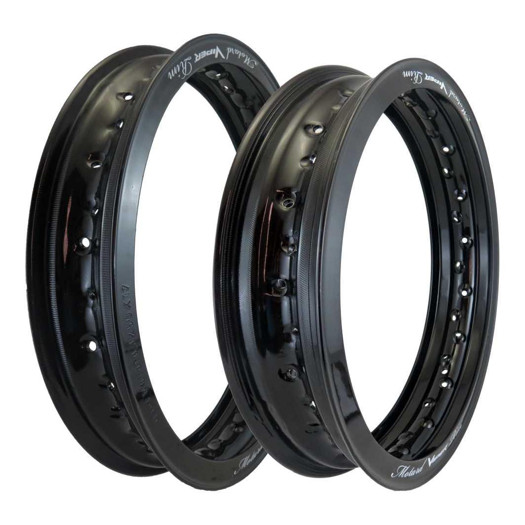 Aro Aluminio DT/TR 250X 17/300X17 Motard Preto