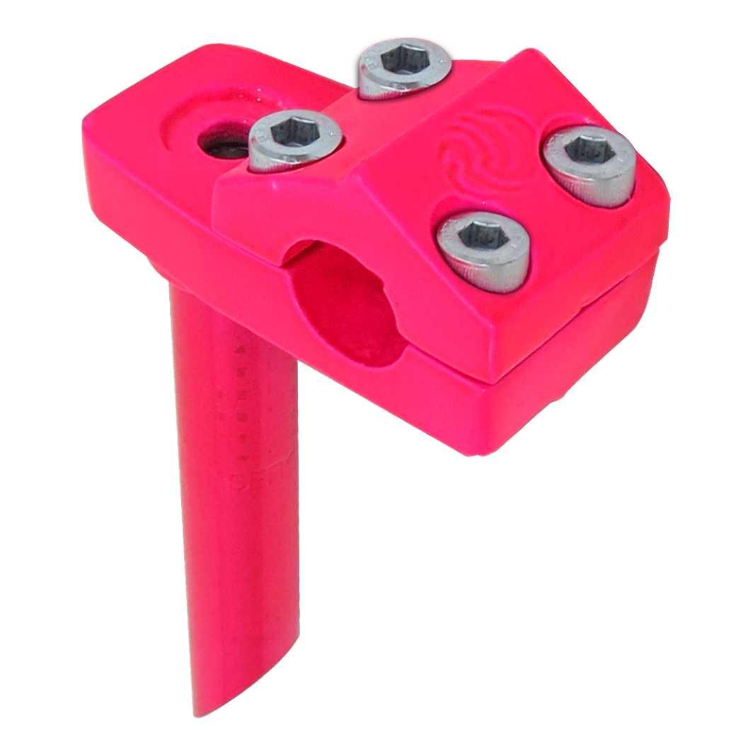 Suporte Guidão Aluminio Frestyle Neon Pink
