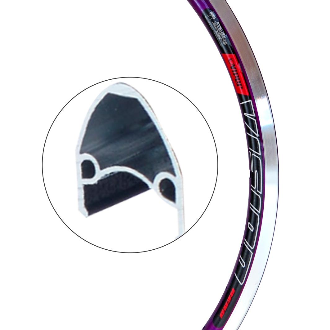 Aro Aluminio 24 Vision Lilas