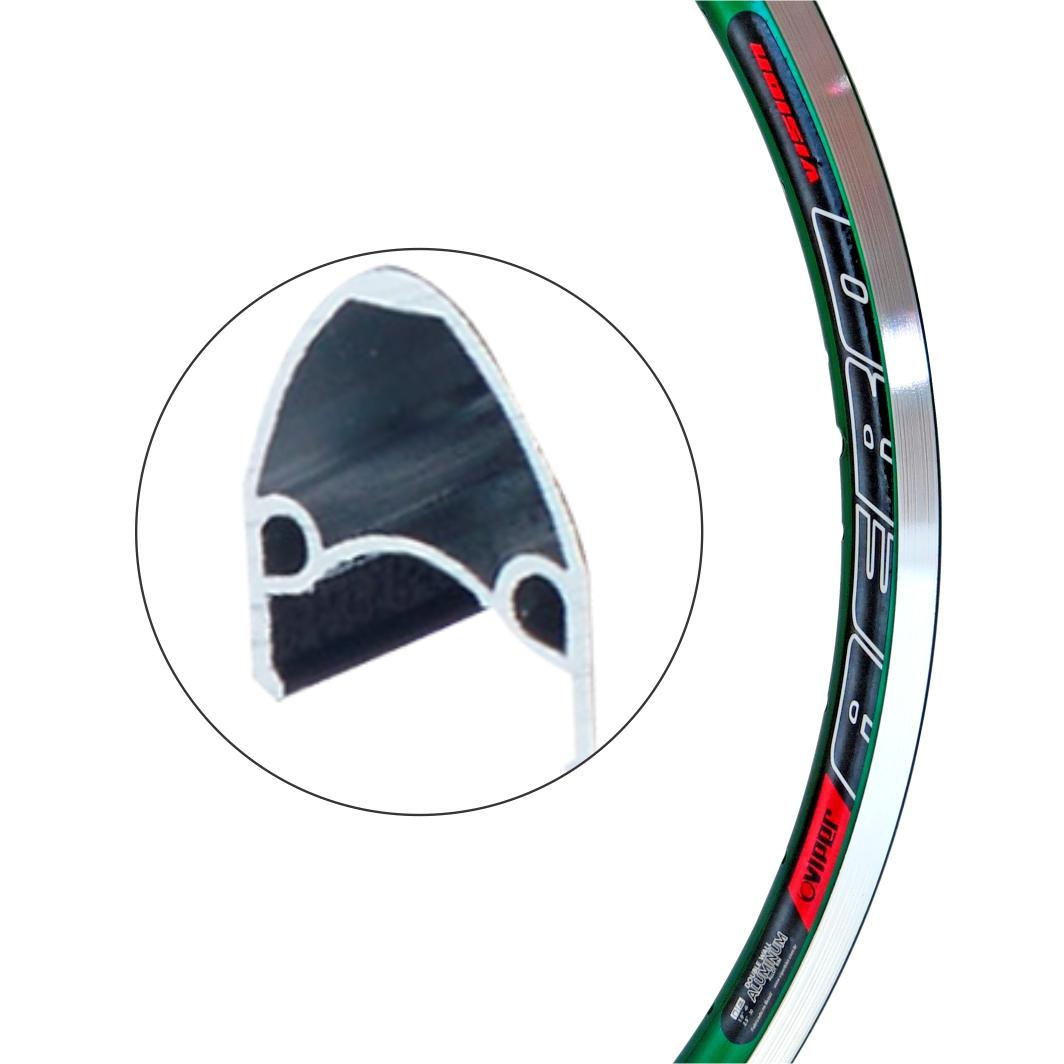 Aro Aluminio 26 Vision Verde
