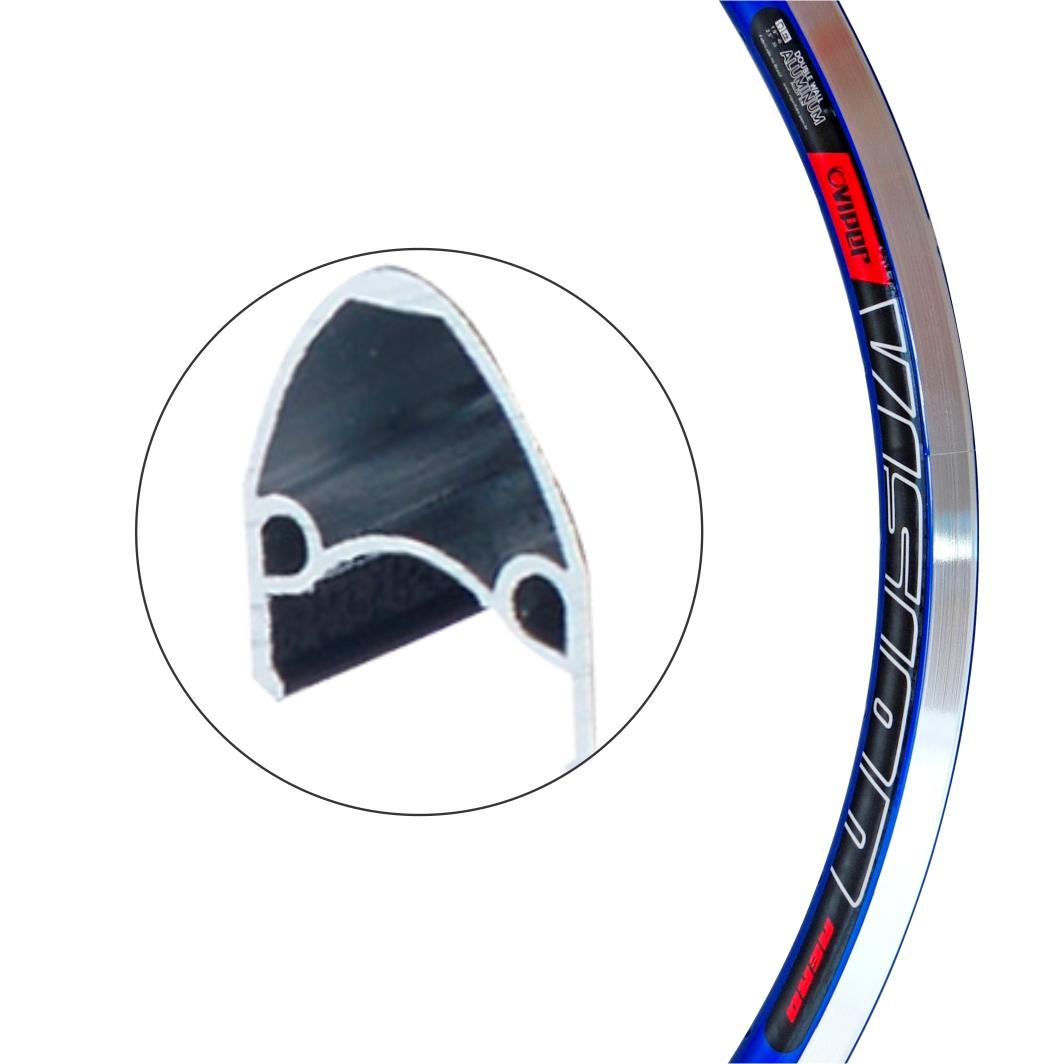 Aro Aluminio 26 Vision Azul