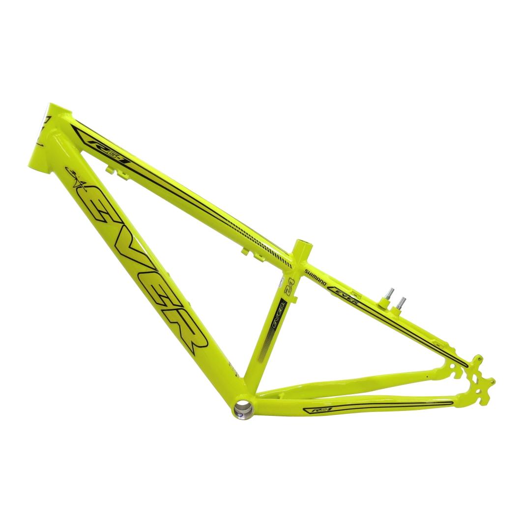 Quadro 24 Aluminio RG-115 Neon Amarelo C/Preto