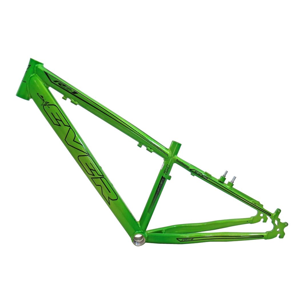 Quadro 24 Aluminio RG-115 Neon Verde C/Preto