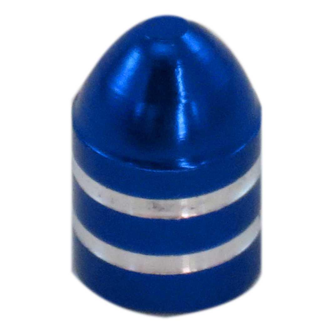 Tampa Valvula Aluminio T/Bala Azul