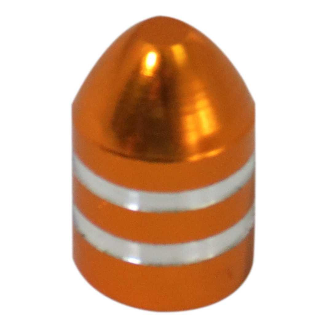 Tampa Valvula Aluminio T/Bala Dourada