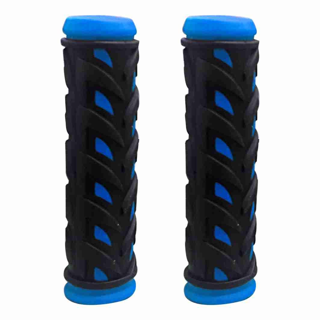 Manopla MTB Splash Preta/Azul