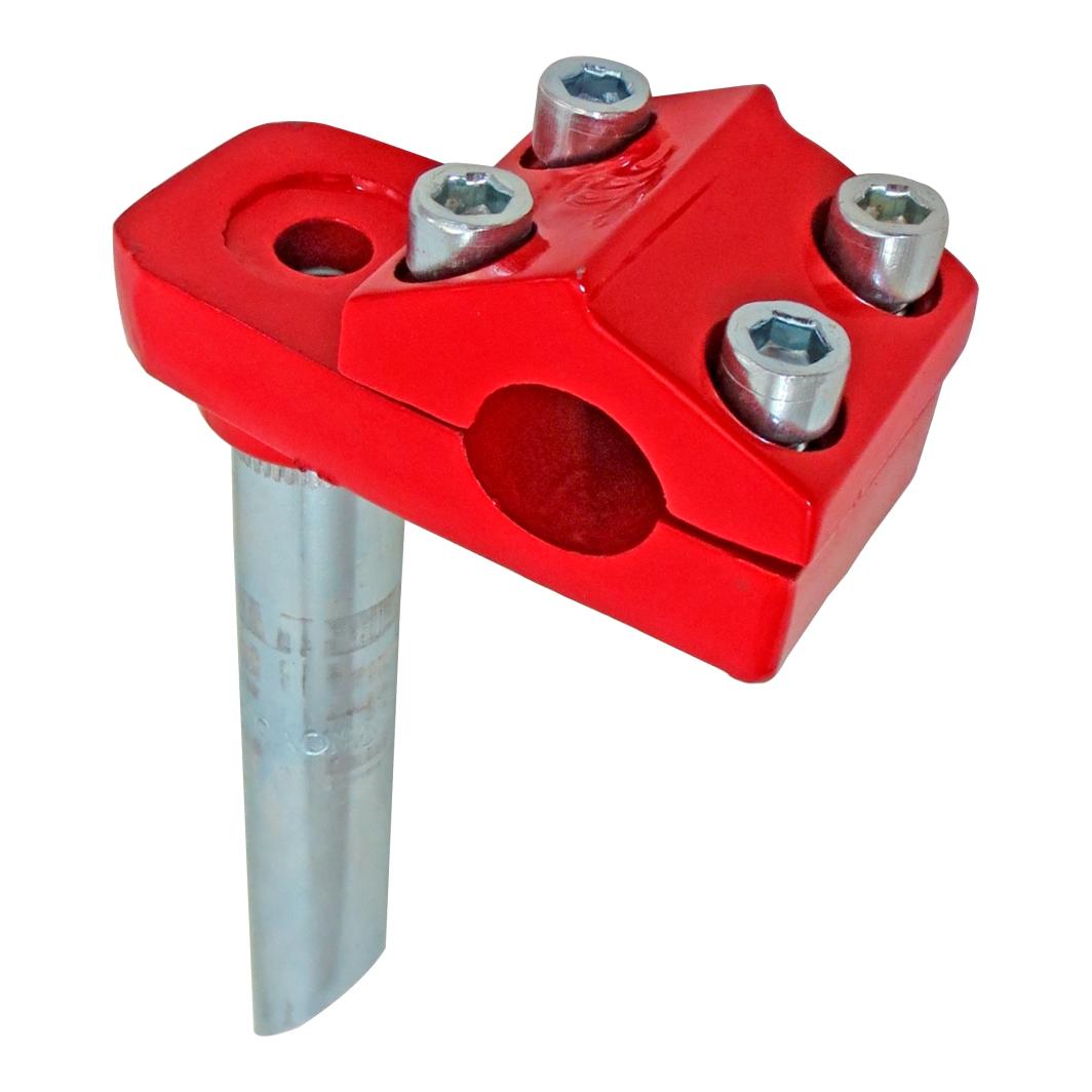 Suporte Guidão Aluminio Frestyle Vermelho Ferrari