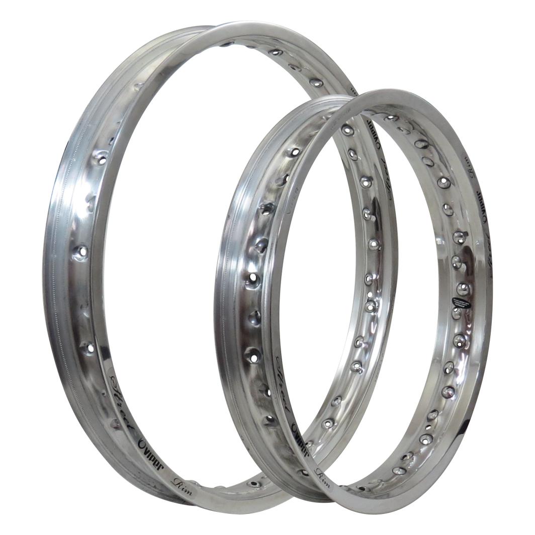 Aro Aluminio Dianteiro/Traseiro 215x14/185x17 Street Polido