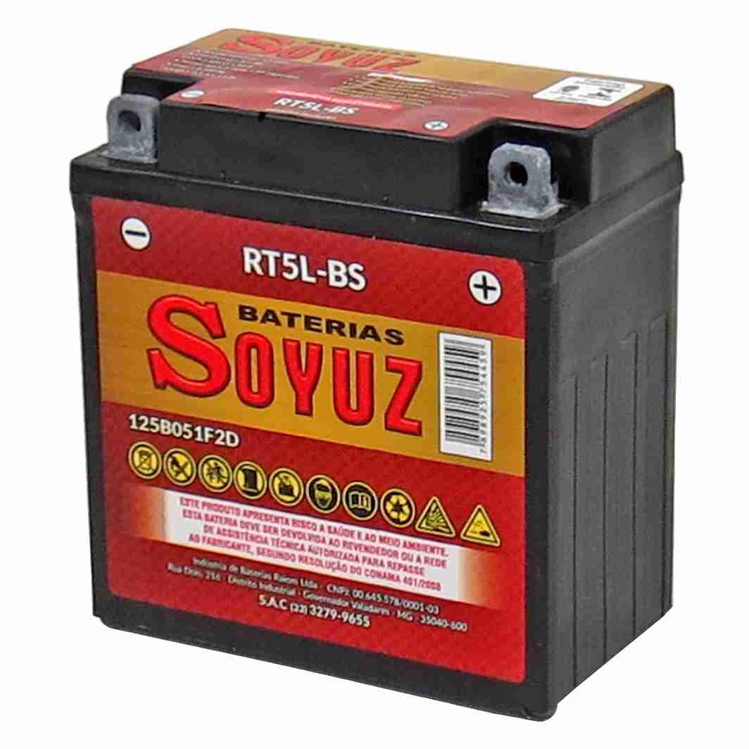 Bateria RT5L-BS  12V 5AH XTZ 125/CRYPTO