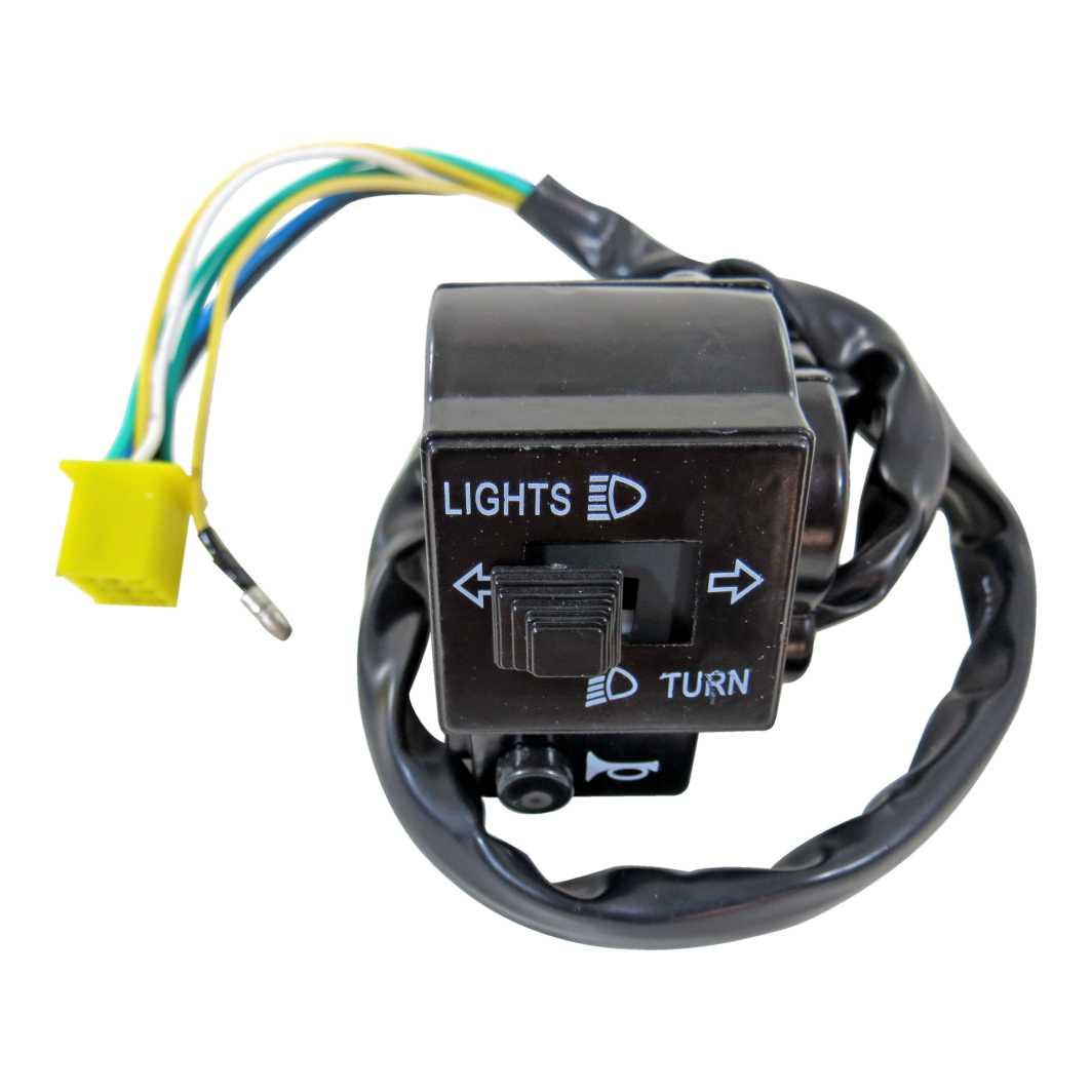 Interruptor Luz 08 Fios YES 125 4-7/INTRUDER