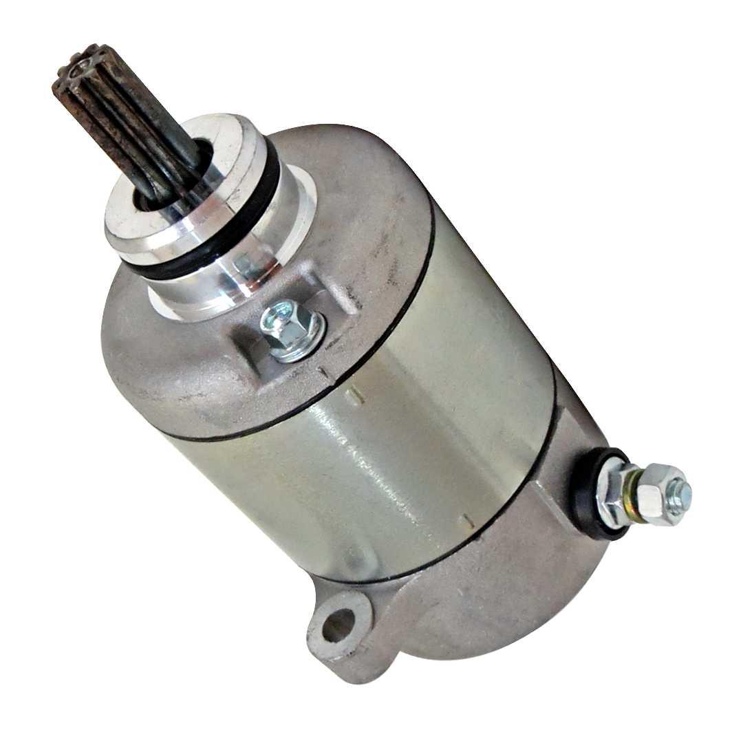 Motor Partida Completo BIZ 125 05-10