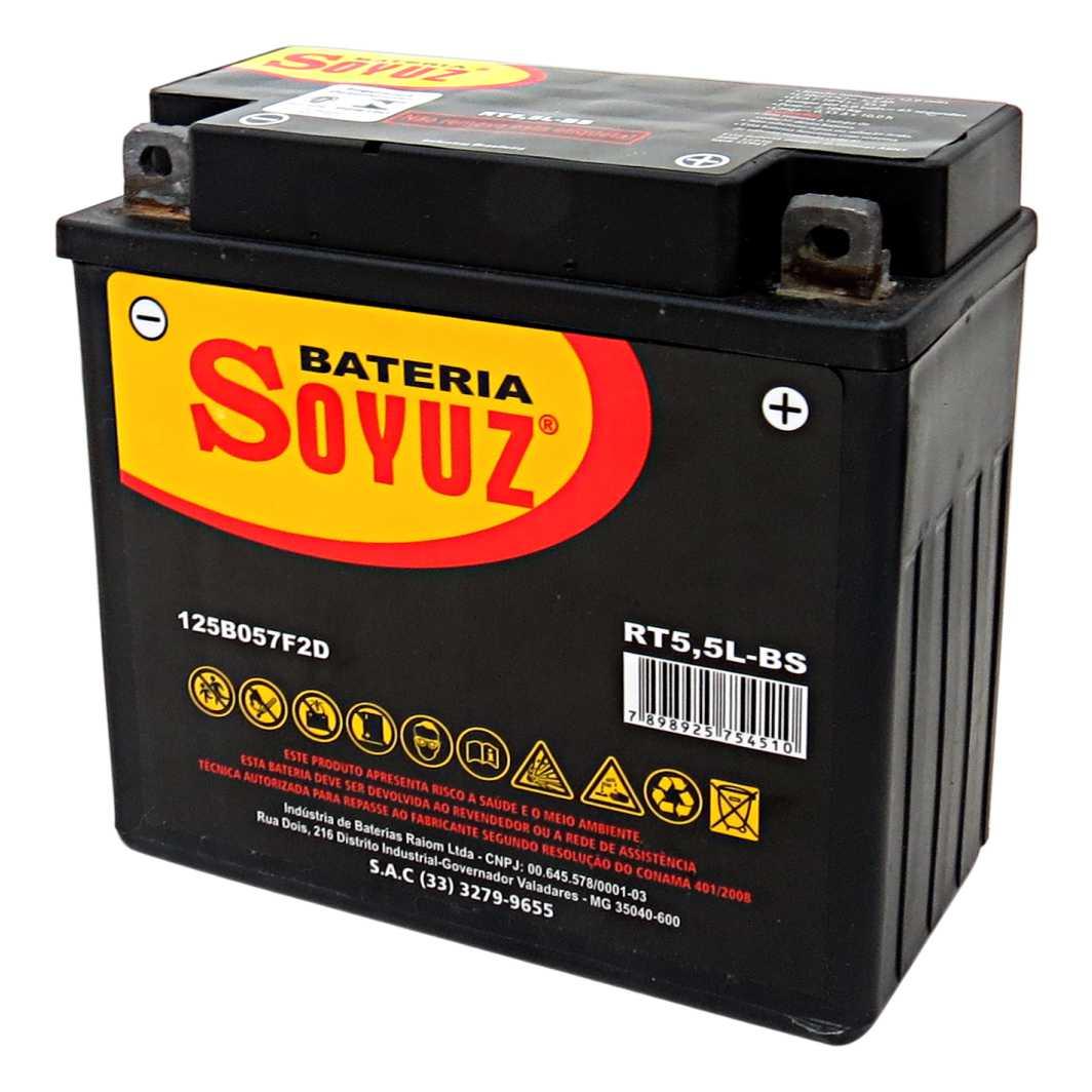 Bateria RT5,5L-BS12V 5,5AH YBR 125