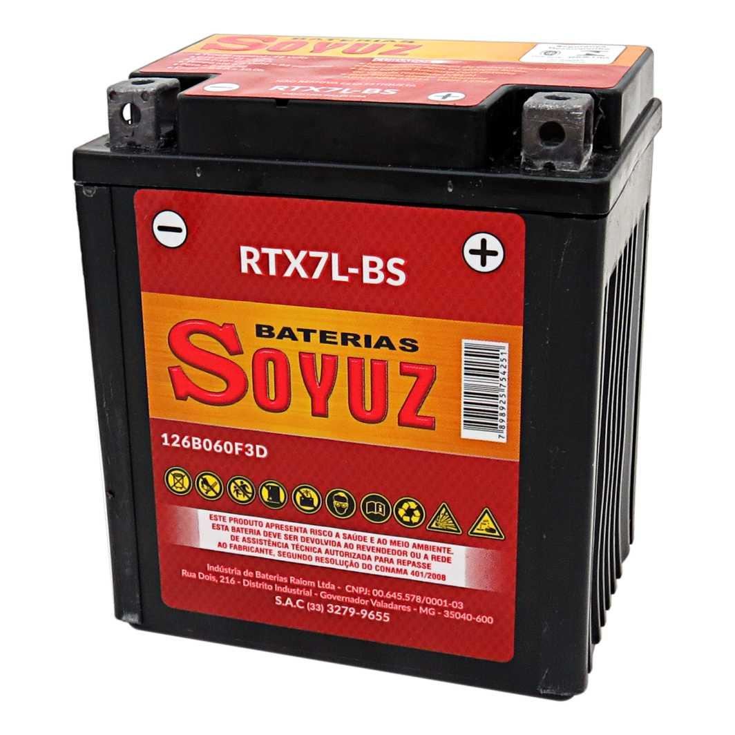 Bateria RTX7L-BS 12V 7AH CBX 250/XR 250