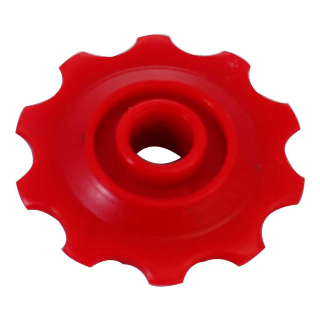Roldana Cambio Nylon Vermelho