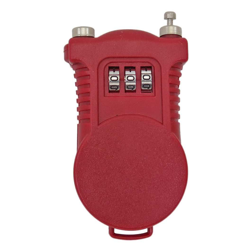 Cadeado Pocket Segredo 1.5x1200mm Vermelho