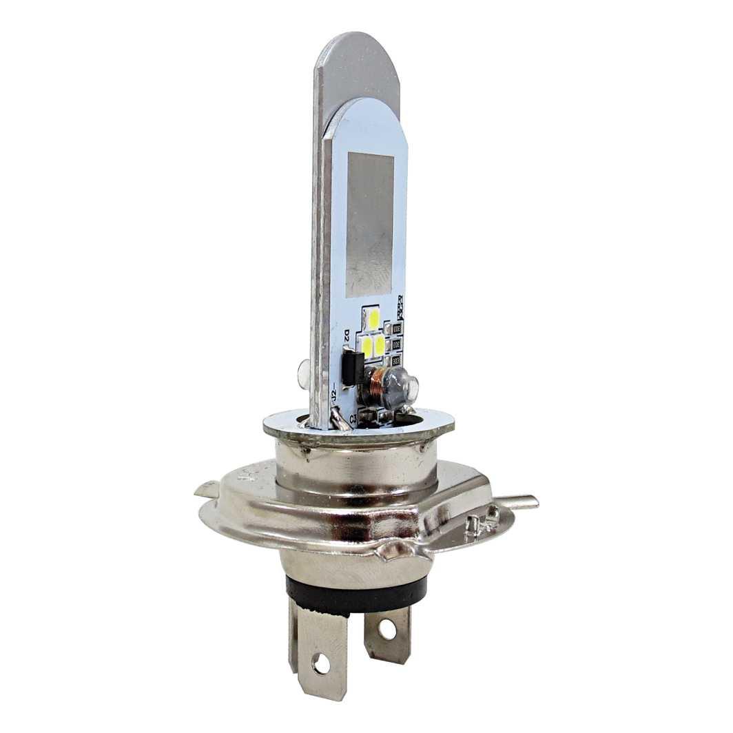 Lampada farol Led H4 2D S/Reator M1 1K Led 016