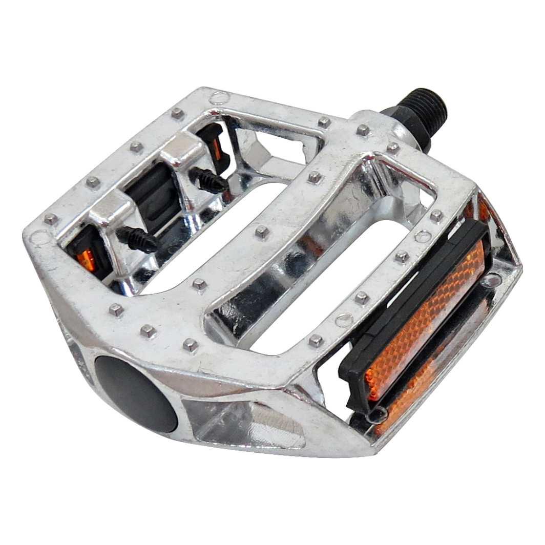 Pedal C/Esfera Inglês Aluminio BMX Polido