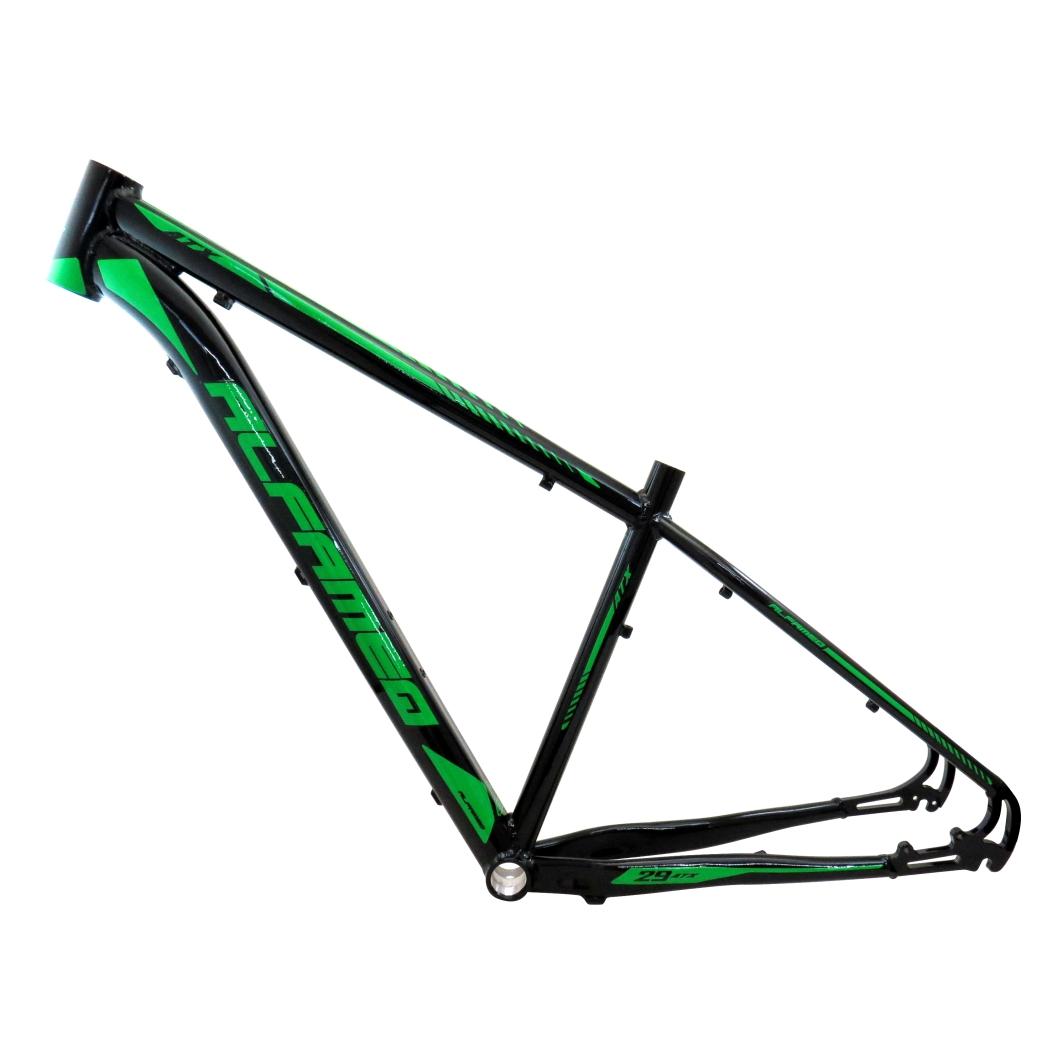 Quadro 29 Aluminio ATX17 Preto Brilhante/Verde